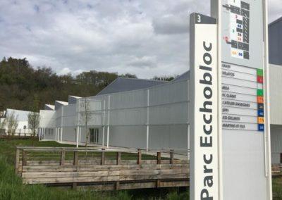 Totem Parc Ecchobloc - Floirac