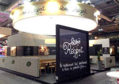 Stand Bistro Régent Régent - Salon de la franchise Paris