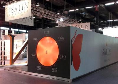 Stand Salin - Salon Vinexpo Bordeaux