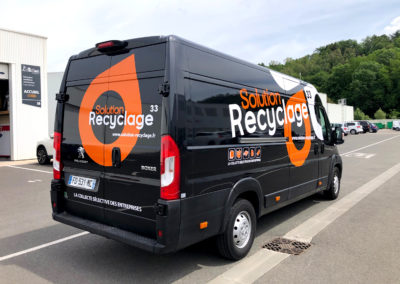 Solution Recyclage 33 - Fourgon